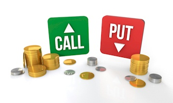 Call vs put options trading