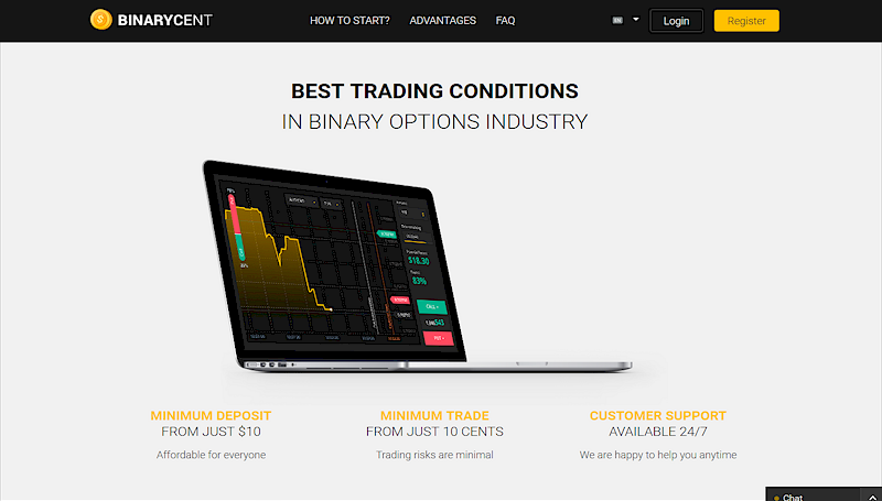 Another example of binary options